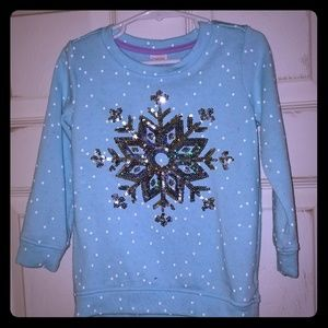 Gymboree Sweatshirt with Sequin Snowflake